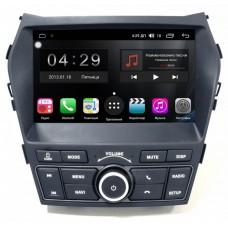 Магнитола для Hyundai Santa Fe (13-18) — FarCar RG209H (High-Tech и Sport)