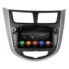 Магнитола Hyundai Solaris (11-16) — Klyde KD-7025-P5