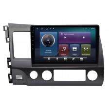 Магнитола для Honda Civic 4D (06-11) — Parafar PF044AHD (седан)