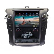 Магнитола для Toyota Corolla E150 (07-13) — модель ZhiFang ZF-1063-DSP