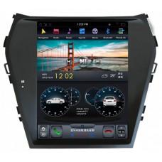 Магнитола для Hyundai Santa Fe (13-18) — ZhiFang ZF-1157-DSP (High-Tech и Sport)