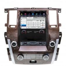 Магнитола для Nissan Patrol Y62 (10-18) — ZhiFang ZF-1222-DSP