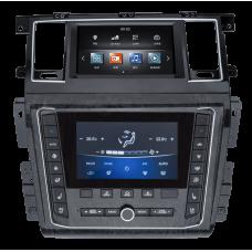 Магнитола для Nissan Patrol Y62 (10-18) — ZhiFang ZF-2001-DSP